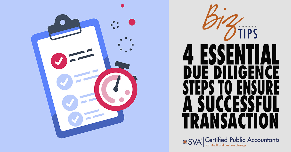 4 Essential Due Diligence Steps to Ensure a Successful Transaction