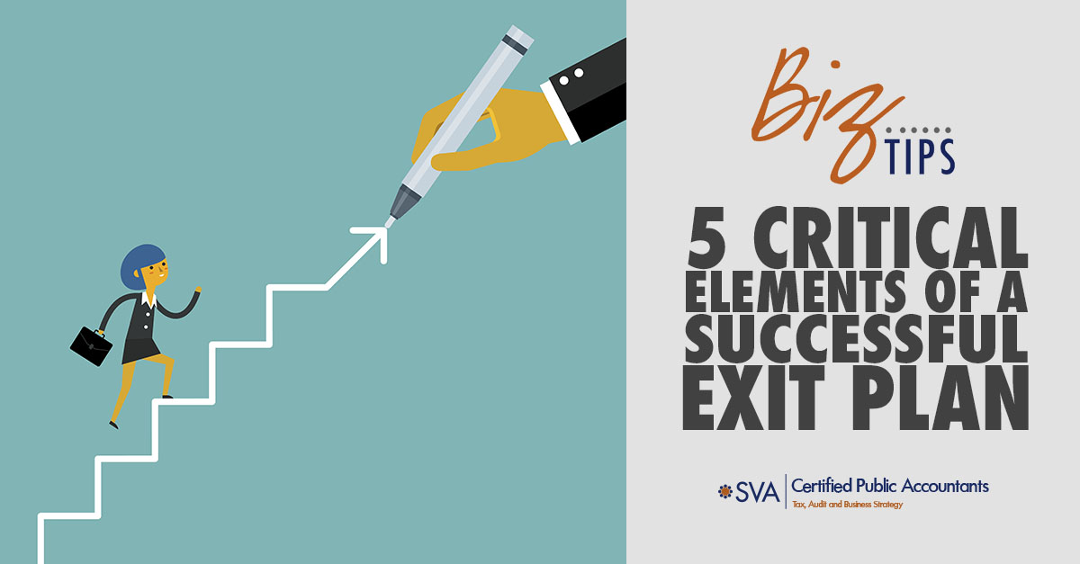 Exit Planning: 5 Critical Elements of a Successful Exit Plan