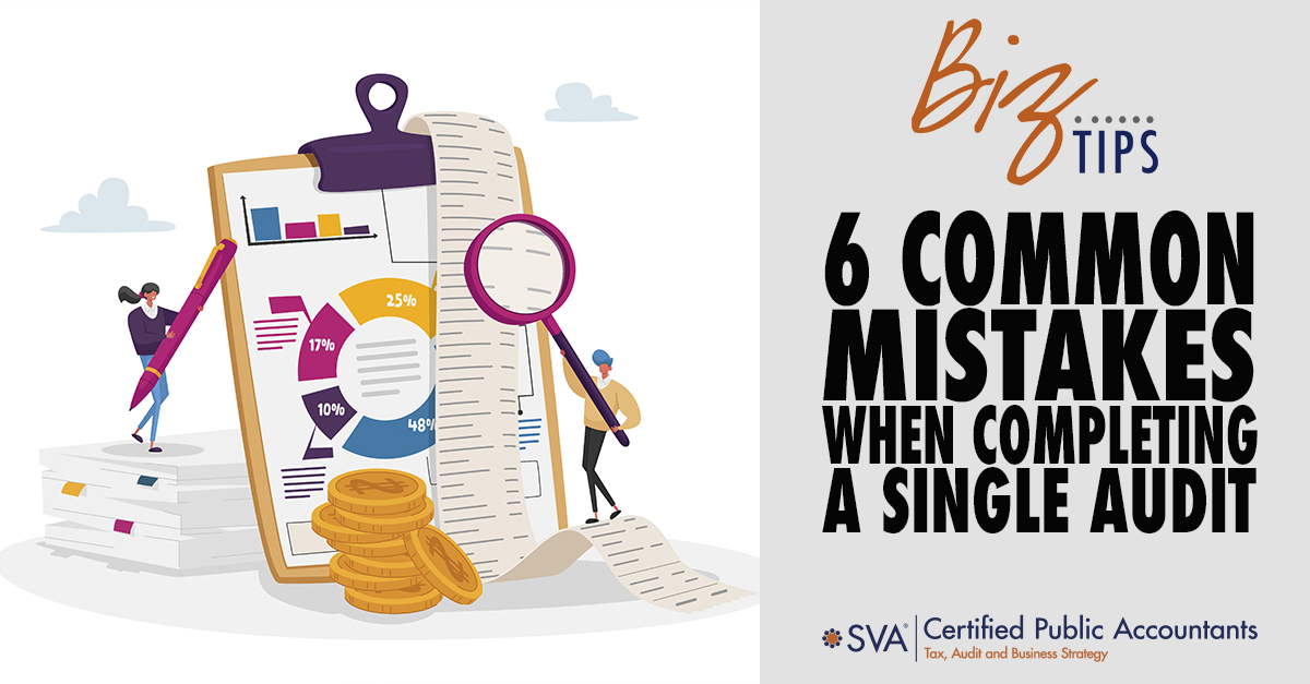 6 Common Mistakes When Completing a Single Audit