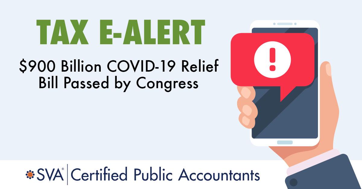 $900 Billion COVID-19 Relief Bill Passed by Congress