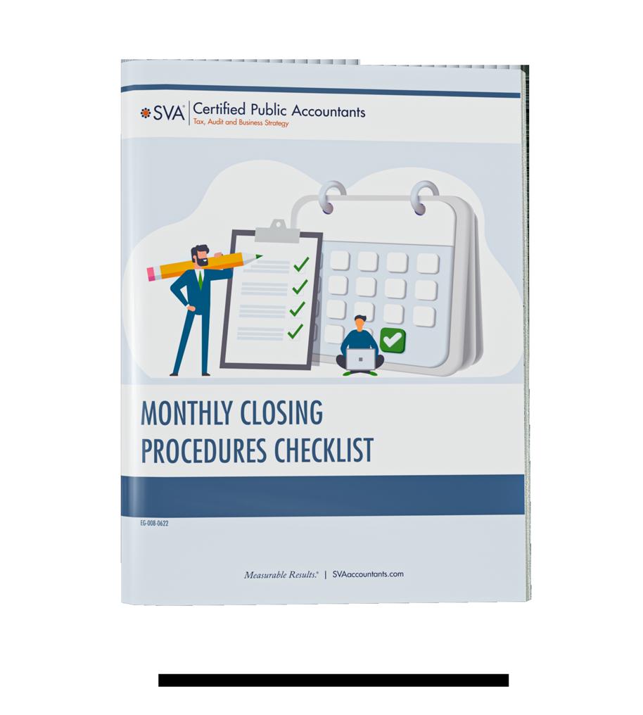 Monthly Closing Procedures Checklist