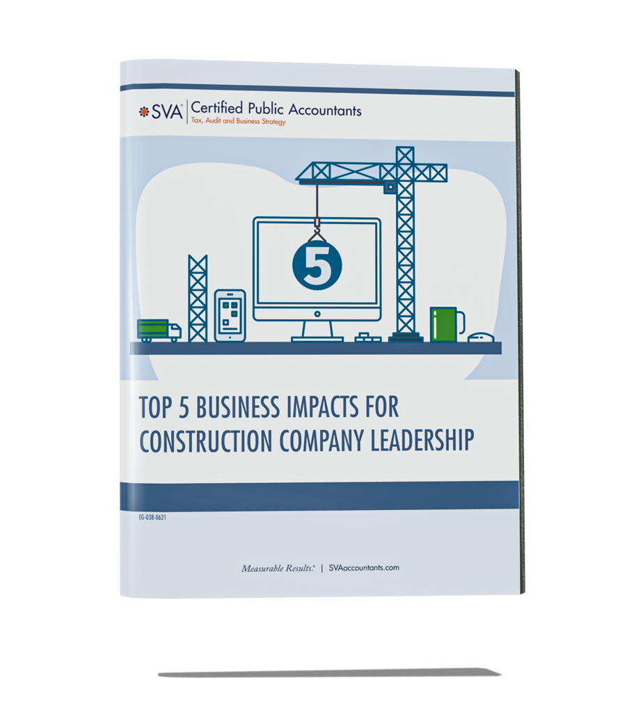 Top 5 Business Impacts for Construction Company Leadership
