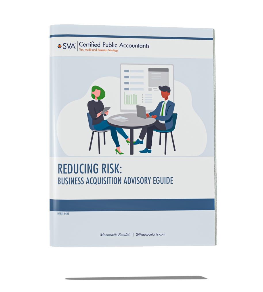 Reducing Risk: Business Acquisition Advisory eGuide