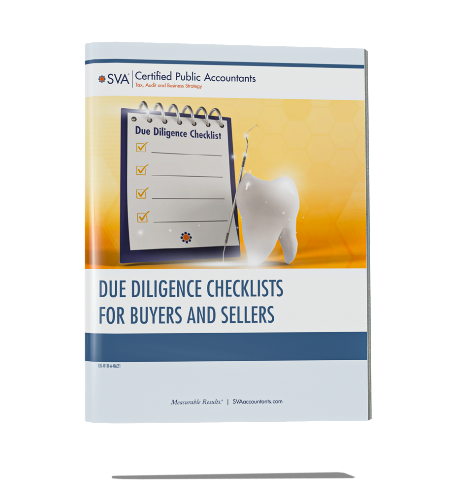 Due Diligence Checklists for Practice Buyers/Sellers (Dental)