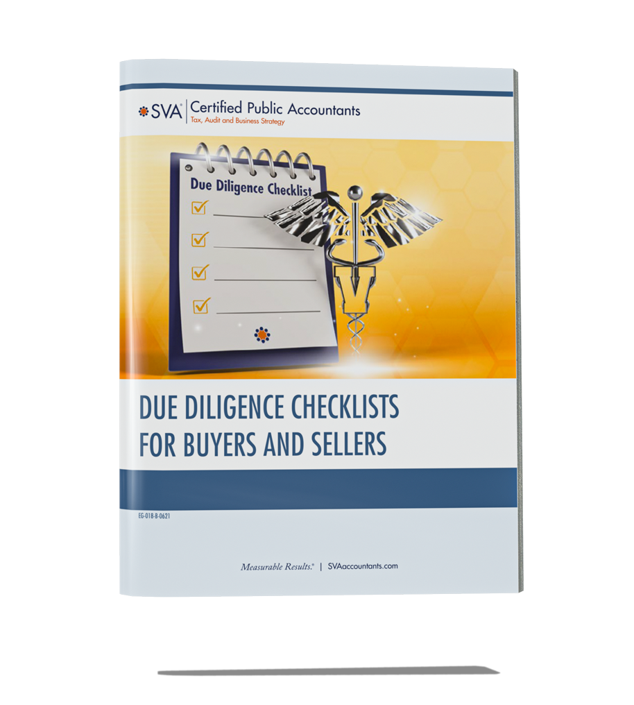 Due Diligence Checklists for Practice Buyers/Sellers (Veterinary)