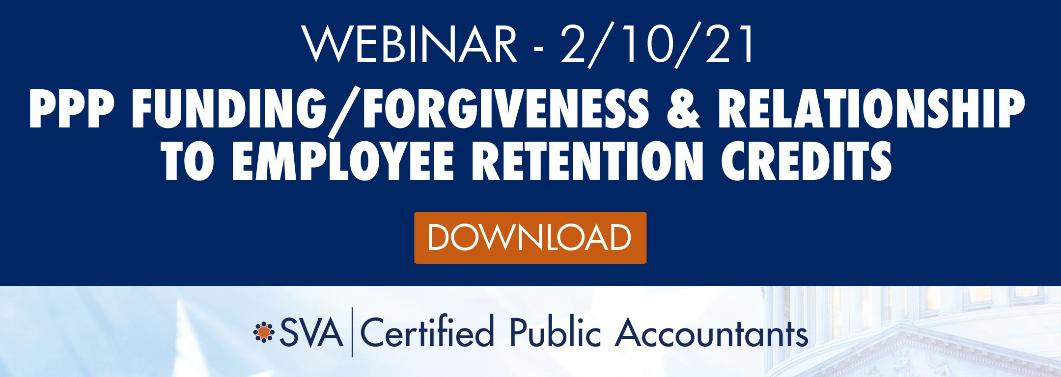 PPP and Employee Retention Credits