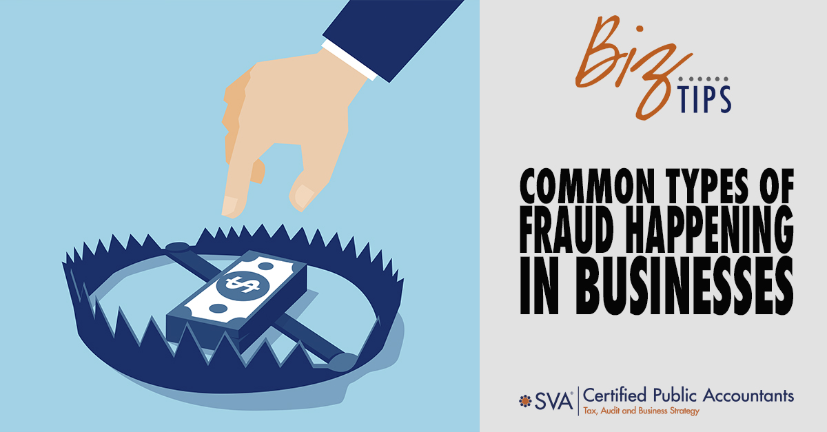 Common Types of Fraud Happening in Businesses