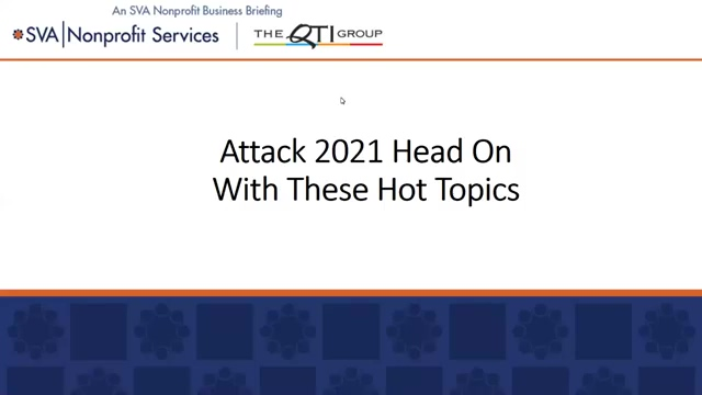 Attack 2021 Head On With These Hot Topics