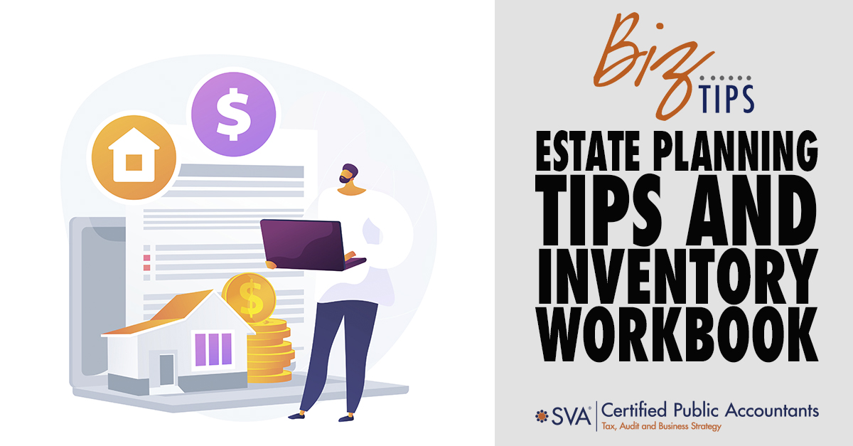 Estate Planning Tips and Inventory Workbook