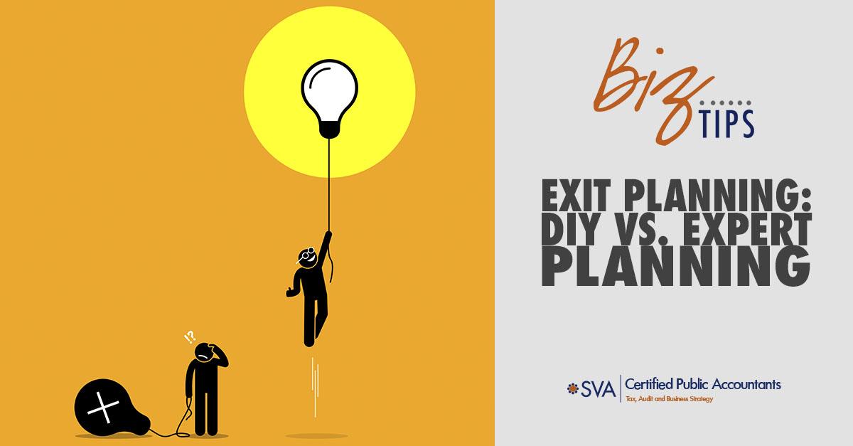 Exit Planning: DIY vs. Expert Planning