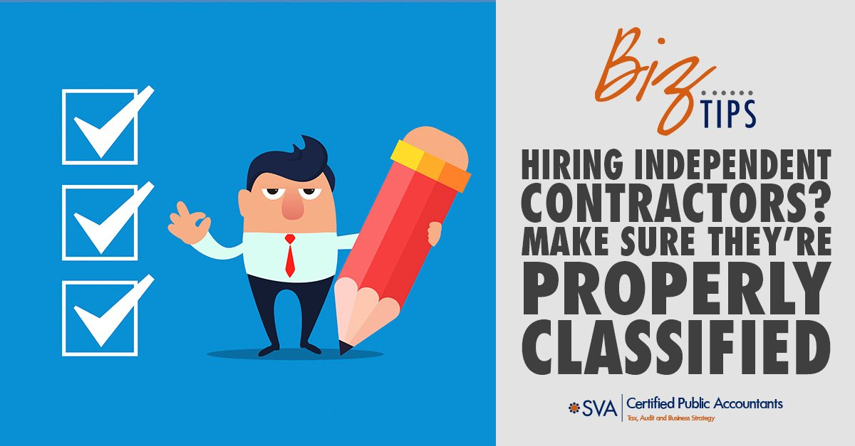Hiring Independent Contractors? Make Sure They're Properly Classified