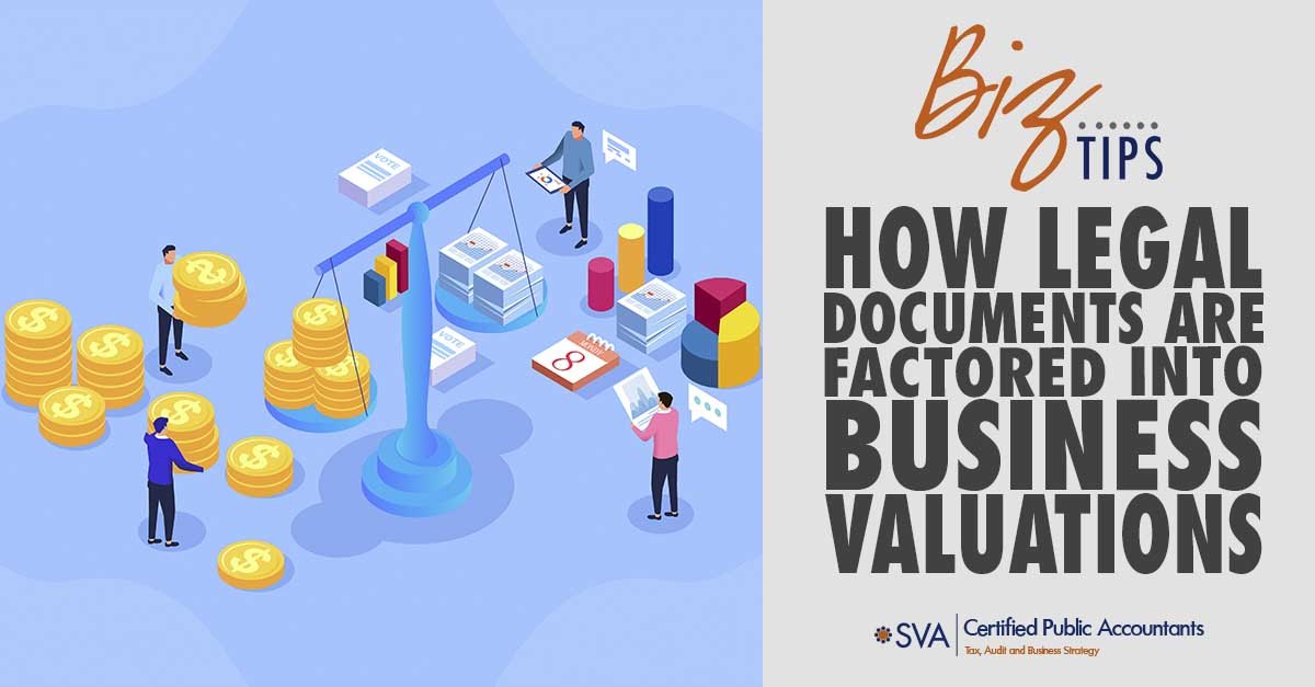 How Legal Documents Are Factored Into Business Valuations
