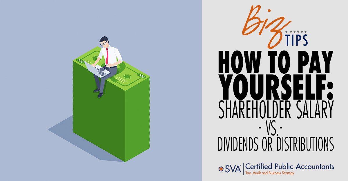 How to Pay Yourself: Shareholder Salary Vs. Dividends or Distributions