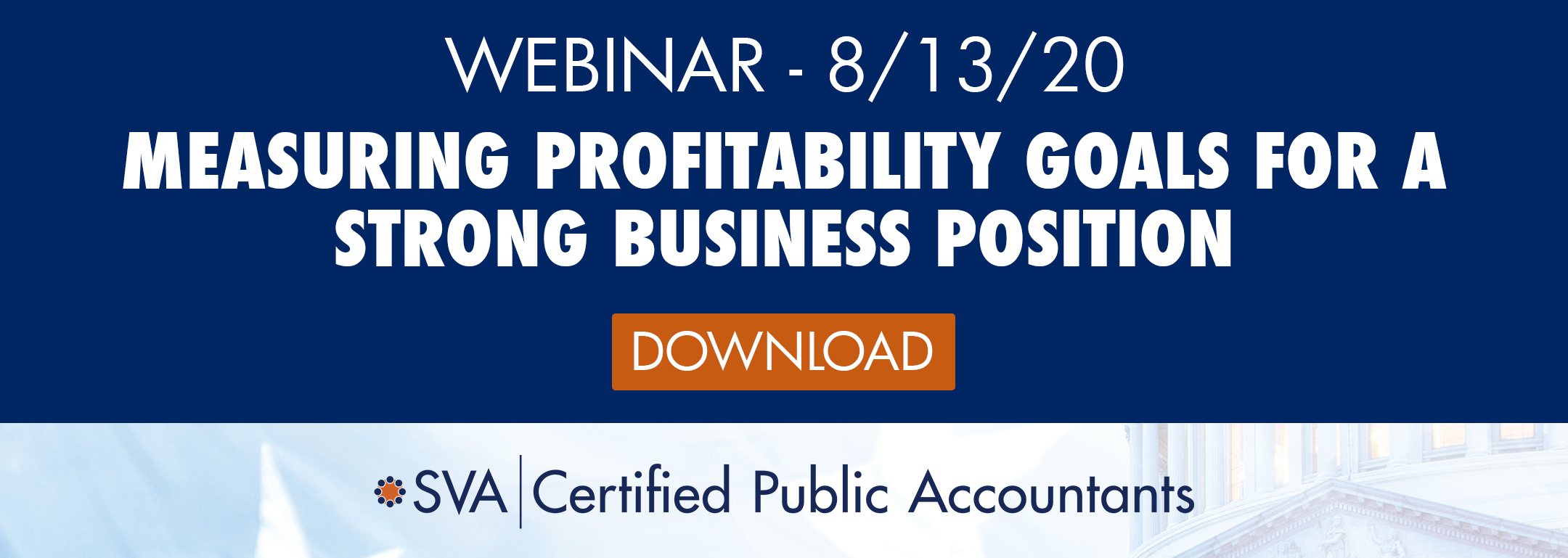 Measuring Profitability Goals for a Strong Business Position
