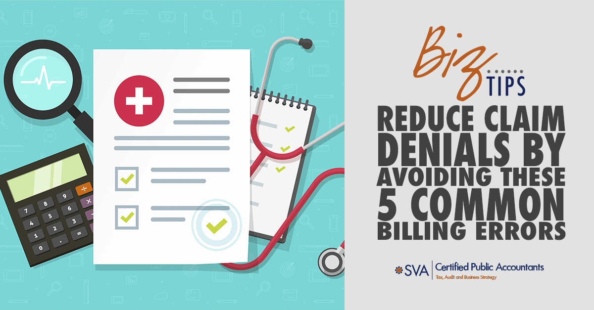 Reduce Claim Denials by Avoiding These 5 Common Billing Errors