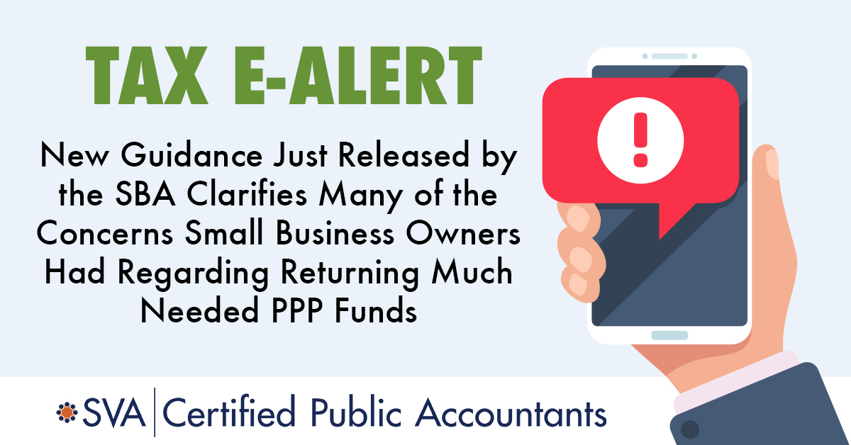 SBA Clarifies Concerns SMB Owners Have Returning PPP Funds