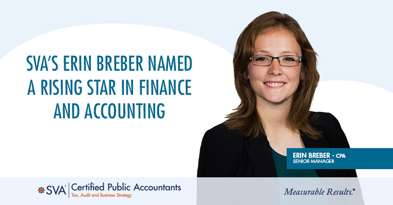SVA's Erin Breber Named a Rising Star in Finance and Accounting