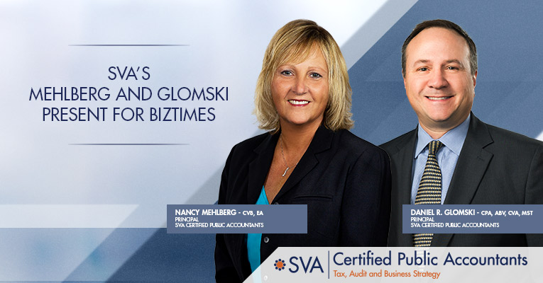 SVA's Mehlberg and Glomski Present for BizTimes