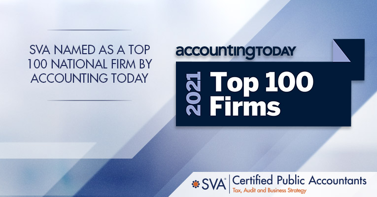 SVA Named as a Top 100 National Firm by Accounting Today