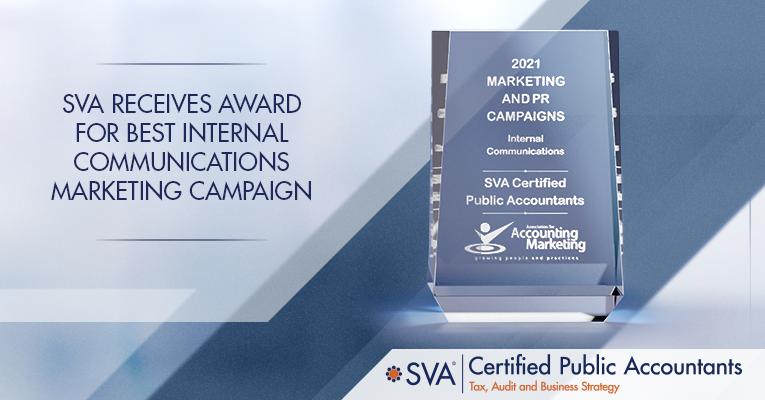 SVA Receives Award for Best Internal Communications Marketing Campaign