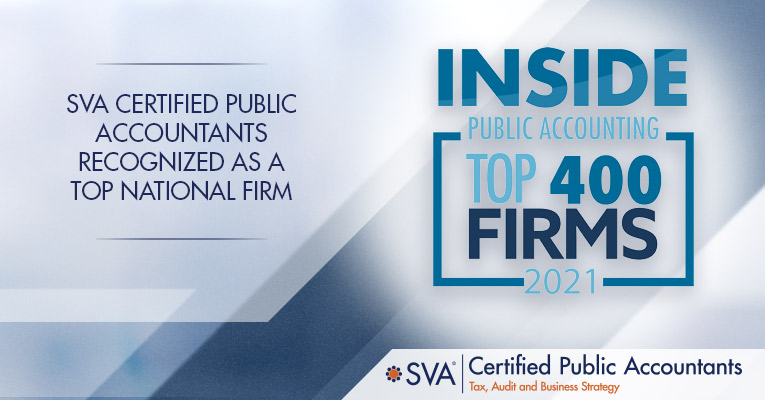 SVA Certified Public Accountants Recognized as a Top National Firm