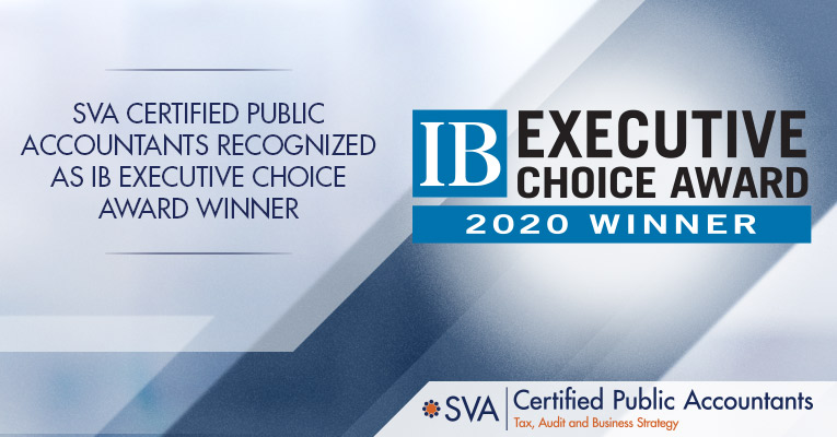 SVA Certified Public Accountants Recognized as IB Executive Choice Award Winner