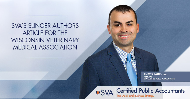 SVA's Slinger Authors Article for the Wisconsin Veterinary Medical Association
