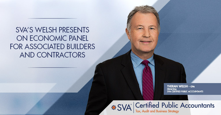 SVA's Welsh Presents on Economic Panel for Associated Builders and Contractors