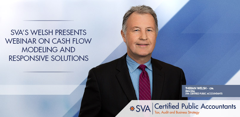 SVA's Welsh Presents Webinar on Cash Flow Modeling and Responsive Solutions
