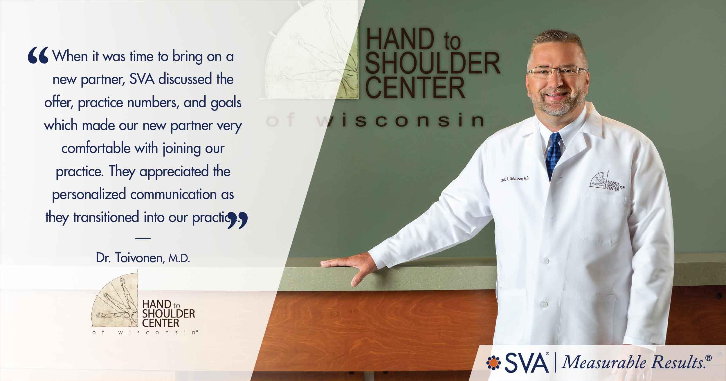 Hand To Shoulder Center of Wisconsin