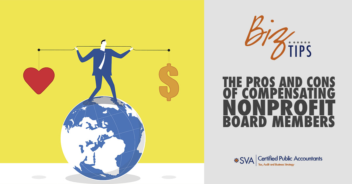 The Pros and Cons of Compensating Nonprofit Board Members