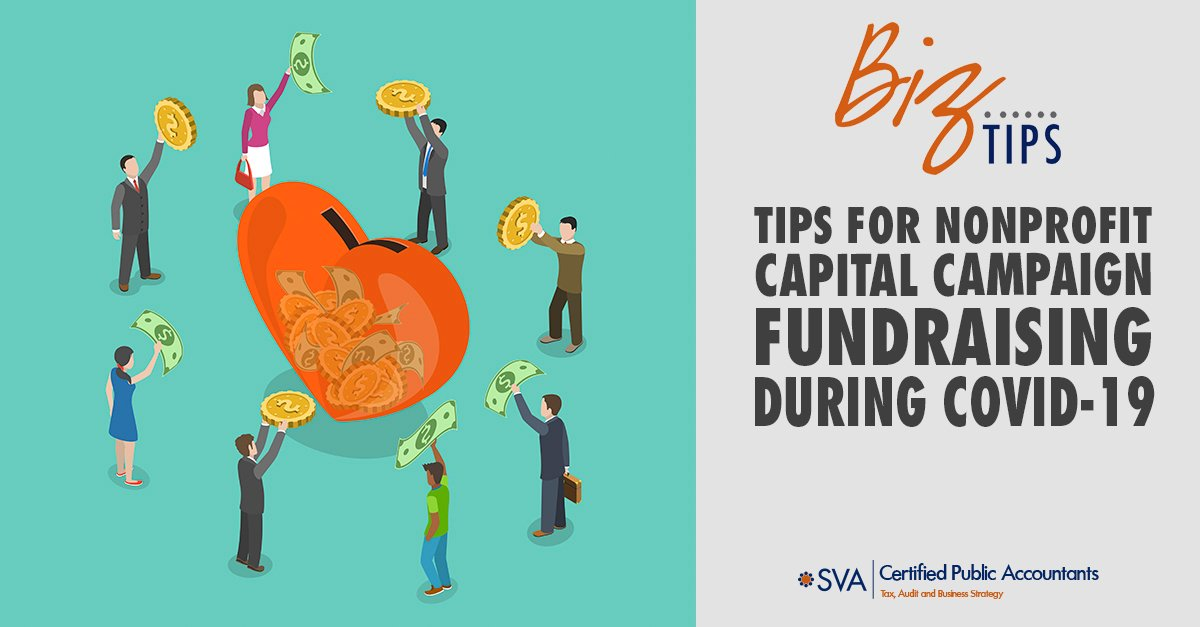Tips for Nonprofit Capital Campaign Fundraising During COVID-19
