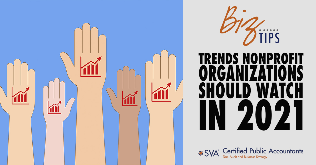 Trends Nonprofit Organizations Should Watch in 2021